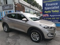 USED 2016 65 HYUNDAI TUCSON 1.7 CRDI SE NAV BLUE DRIVE 5d 114 BHP, only 36000 miles ***APPROVED DEALER FOR CAR FINANCE247 AND ZUT0  ***