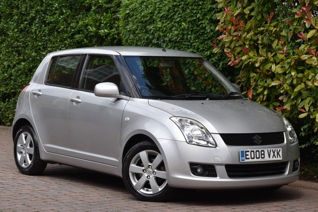 2008 08 SUZUKI SWIFT 1.5 GLX 5d AUTO 99 BHP