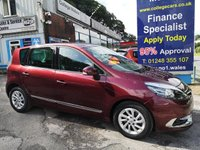 2016 RENAULT SCENIC 1.5 DYNAMIQUE NAV DCI 5d 110 BHP, only 18000 miles £8995.00