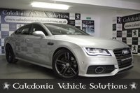 USED 2013 13 AUDI A7 3.0 TDI QUATTRO S LINE 5d AUTO 242 BHP ONE FORMER KEEPER with 12 MONTHS MOT & AUDI SERVICE HISTORY, FANTASTIC EXAMPLE with HUGE SPEC