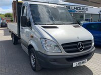 USED 2011 11 MERCEDES-BENZ SPRINTER 2.1 313 CDI C/C MWB 1d 129 BHP Sold AS SPARES OR REPAIRS NO WARRANTY IMPLIED OR GIVEN  NO VAT Mercedes Sprinter SOLD AS SPARES OR REPAIRS NO WARRANTY IMPLIED OR GIVEN  NO VAT