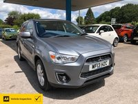 USED 2013 13 MITSUBISHI ASX 1.8 DI-D 3 5d 147 BHP ALL OUR CARS ARE AA INSPECTED