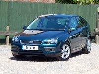 2006 FORD FOCUS 1.6 ZETEC CLIMATE 16V 5d AUTO 101 BHP £2470.00