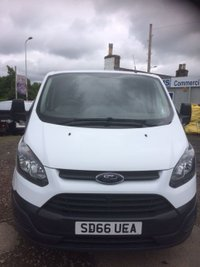 USED 2016 66 FORD TRANSIT CUSTOM 2.2 270 LR P/V 1d 99 BHP PANEL VAN