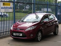 USED 2011 11 FORD FIESTA 1.4 ZETEC 16V 5d 96 BHP Ideal 1st Car,Air Conditioning,Alloys,Privacy Glass,Service History