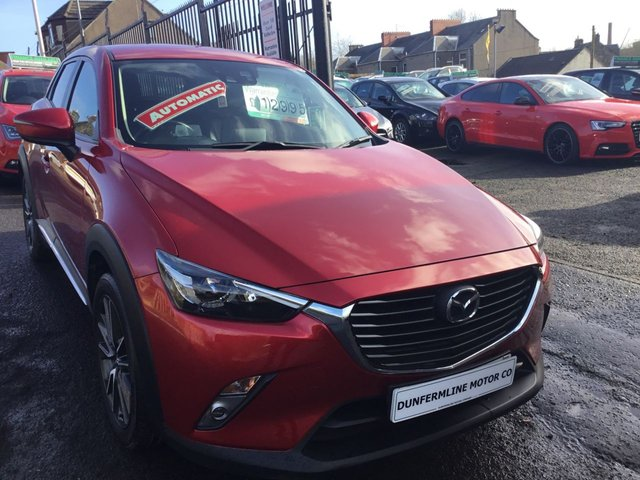USED 2015 65 MAZDA CX-3 1.5 D SPORT NAV 5d AUTO 104 BHP ++1 OWNER+VERY LOW MILEAGE+BIG SPEC++