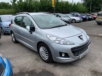 USED 2012 62 PEUGEOT 207 1.6 HDI SW ACTIVE 5d 92 BHP ONLY £20 PER YEAR ROAD TAX