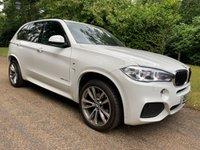 2016 BMW X5 3.0 XDRIVE30D M SPORT 5d AUTO 255 BHP £26795.00