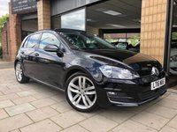 USED 2016 16 VOLKSWAGEN GOLF 1.4 GT EDITION TSI ACT BMT DSG 5d AUTO 148 BHP