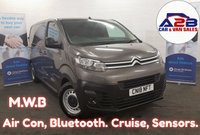 2018 CITROEN DISPATCH 1.6 ENTERPRISE BLUE HDI S/S 115 BHP  , Medium Wheel Base, One Owner from New, Air Con, Bluetooth Connectivity, Euro 6 with Ad Blu, Cruise Control and more.... £13280.00