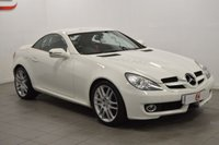 USED 2008 08 MERCEDES-BENZ SLK 3.0 SLK280 2d AUTO 232 BHP LOW MILES + SERVICE HISTORY + RARE IN WHITE + BLACK LEATHER