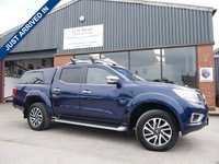 USED 2016 16 NISSAN NP300 NAVARA 2.3 DCI TEKNA 4X4 SHR DCB 1d AUTO 190 BHP OVER £4000 OF GENUINE NISSAN ACCESSORIES FITTED FROM NEW