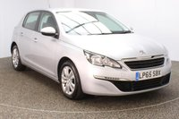 USED 2016 16 PEUGEOT 308 1.6 BLUE HDI S/S ACTIVE 5DR SAT NAV 1 OWNER 120 BHP FULL SERVICE HISTORY + FREE 12 MONTHS ROAD TAX + SATELLITE NAVIGATION + PARKING SENSOR + BLUETOOTH + CRUISE CONTROL + CLIMATE CONTROL + MULTI FUNCTION WHEEL + DAB RADIO + ELECTRIC WINDOWS + RADIO/CD/AUX/USB + ELECTRIC MIRRORS + 16 INCH ALLOY WHEELS