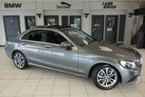 "USED 2017 17 MERCEDES-BENZ C CLASS 2.0 C350 E SPORT PREMIUM 4d AUTO 289 BHP FINISHED IN STUNNING SELENITE GREY METALLIC WITH FULL BLACK LEATHER SEATS + FULL MERCEDES SERVICE HISTORY + COMAND SATELLITE NAVIGATION + HEATED FRONT SEATS + REAR VIEW CAMERA + PANORAMIC SLIDING SUNROOF + ELECTRIC KEY OPERATED TAILGATE + BI XENON HEADLIGHTS + DAB RADIO + PRIVACY GLASS + BLUETOOTH + BLUETOOTH MEDIA + CLIMATE CONTROLLED AIR CONDITIONING + CRUISE CONTROL + 17"" ALLOY WHEELS"