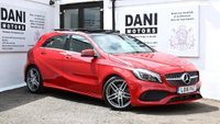 USED 2016 16 MERCEDES-BENZ A CLASS 2.1 A220d AMG Line (Premium Plus) 7G-DCT (s/s) 5dr *1 OWNER*SATNAV*PAN ROOF*