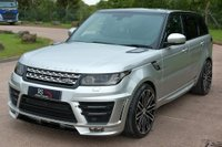 USED 2016 16 LAND ROVER RANGE ROVER SPORT 3.0 SD V6 HSE 4X4 (s/s) 5dr NAV+CAMERA+RS LUMMA KIT