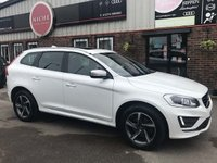 USED 2015 15 VOLVO XC60 2.0 D4 R-Design Lux Geartronic 5dr PANORAMIC ROOF~SAT NAV~LEATHER