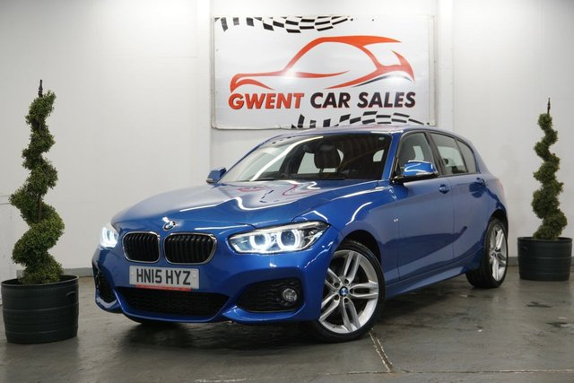 USED 2015 15 BMW 1 SERIES 2.0 120D XDRIVE M SPORT 5d AUTO 188 BHP GOOD SERVICE HISTORY, CLEAN EXAMPLE, ONE OWNER
