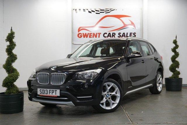USED 2013 13 BMW X1 2.0 XDRIVE18D XLINE 5d AUTO 141 BHP LOW MILEAGE AUTOMATIC XDRIVE