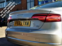 USED 2014 AUDI A8 4.1 L TDI QUATTRO SE EXECUTIVE 4d! p.x welcome! AUTO! 380 BHP! FULL SCREEN SAT-NAV! REVERSE CAMERA! FULL HEATED ELECTRIC MEMORY CREAM LEATHER SEATS! ELECTRIC TILT AND SLIDE SOLAR SUNROOF! PADDLE GEARS! BLUETOOTH! WOOD TRIM! BOSE SOUND! PARKING AID (FRONT+REAR)! CRUISE & CLIMATE CONTROL! 8 SPEED! SUN-BLINDS! AUTO STOP! AUTO PARK BRAKE! AUTO LIGHTS! AUDI DRIVE! FULL AUDI SERVICE HISTORY! FINANCE AVAILABLE! NEW MOT & SERVICE! AA WARRANTY & BREAKDOWN COVER!  NATIONWIDE DELIVERY AVAILABLE! SAT-NAV+R/CAMERA+CREAM LEATHR+SOLAR SUNROOF+AUTO+380BHP+8SPEED+FULL SPEC+FINANCE AVB+FUL[L AUDI S-HIS+BROWSE!