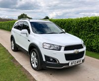 USED 2013 13 CHEVROLET CAPTIVA 2.2 LTZ VCDI 5d AUTO , 8 SERVICES, BEST AVAILABLE, , SAT NAV, PARKING SENSORS, HEATED LEATHER