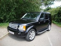 2009 LAND ROVER DISCOVERY 3 2.7 3 TDV6 HSE 5d AUTO 188 BHP £12995.00