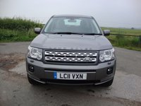 USED 2011 11 LAND ROVER FREELANDER 2 2.2 SD4 HSE 5d AUTO 190 BHP Freelander 2, 2.2SD4, HSE Auto in Grey with Black leather interior