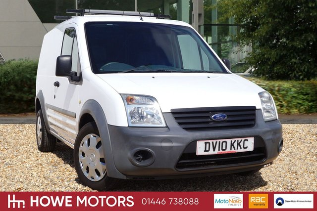 2010 10 FORD TRANSIT CONNECT 1.8 T220 LR 1d 90 BHP PLY LINED FULL SERVICE HISTORY JUST DONE NO VAT!