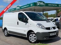 USED 2013 13 RENAULT TRAFIC 2.0 SL29 DCI S/R P/V 1d 115 BHP Top Security Spec, SAT NAV, Parking Camera, Extra Security Locks, OBD Portector Theft Protection.