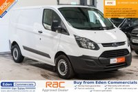 USED 2017 17 FORD TRANSIT CUSTOM 2.0 290 LR P/V 1d 104 BHP