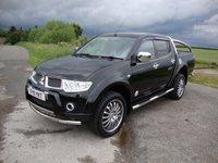 2011 MITSUBISHI L200 2.5 DI-D 4X4 WALKINSHAW LB DCB 1d 175 BHP £10995.00