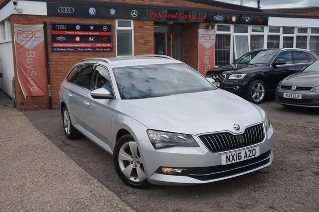 USED 2016 16 SKODA SUPERB 2.0 TDI SE (s/s) 5dr FULL SKODA HISTORY+1 OWNER+EU6