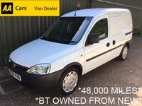 2008 VAUXHALL COMBO 1.3 2000 CDTI 75BHP*BT OWNED FROM NEW*FULL SERVICE HISTORY* £2995.00