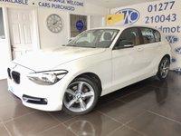2013 BMW 1 SERIES 2.0 116D SPORT 5d 114 BHP £6795.00