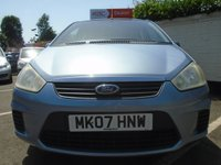 USED 2007 07 FORD C-MAX 1.6 STYLE 5d 100 BHP GUARANTEED TO BEAT ANY 'WE BUY ANY CAR' VALUATION ON YOUR PART EXCHANGE