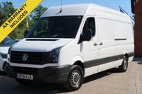 USED 2016 16 VOLKSWAGEN CRAFTER 2.0 CR35 TDI H/R P/V 1d 108 BHP £9995 PLUS VAT + NATIONWIDE DELIVERY AVAILABLE