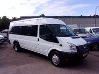 USED 2013 13 FORD TRANSIT 2.2 430 LWB Minibus 17 Seater 135 BHP