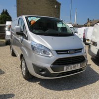 2015 FORD TRANSIT CUSTOM 270 LIMITED 125PS 2.2TDCi L1 H1 VAN £10995.00
