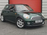 2012 MINI HATCH COOPER 1.6 COOPER 3d AUTO 122 BHP £7295.00