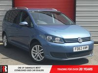 USED 2013 63 VOLKSWAGEN TOURAN 2.0 SE TDI BLUEMOTION TECHNOLOGY 5d 138 BHP 2nd Row Centre Seat Converts Into A Table