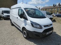 2017 FORD TRANSIT CUSTOM 290 BASE 130PS 2.0TDCi EURO 6 LONDON FRIENDLY L2 H2 VAN £11995.00