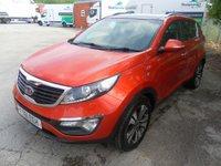 USED 2012 61 KIA SPORTAGE 1.7 CRDI 3 5d 114 BHP