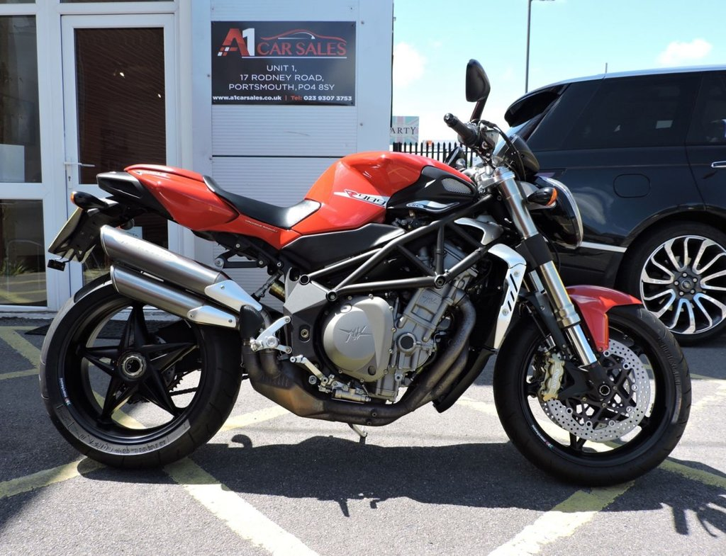 View our MV AGUSTA BRUTALE