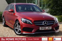 USED 2016 66 MERCEDES-BENZ C CLASS 2.1 C220 D AMG LINE 5d AUTO 170 BHP NAVIGATION HEATED LEATHER REAR VIEW CAMERA 18