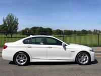 2011 BMW 5 SERIES 2.0 520D M SPORT 4d AUTO 181 BHP £9495.00