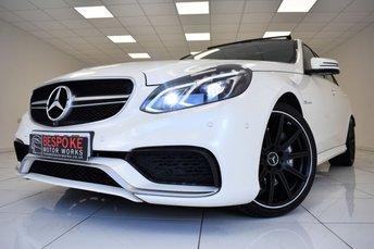 2014 MERCEDES-BENZ E CLASS E63 AMG 5.5 550 BHP £28995.00