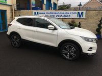 USED 2018 67 NISSAN QASHQAI 1.5 N-CONNECTA DCI 5d 108 BHP EXECUTIVE PACK