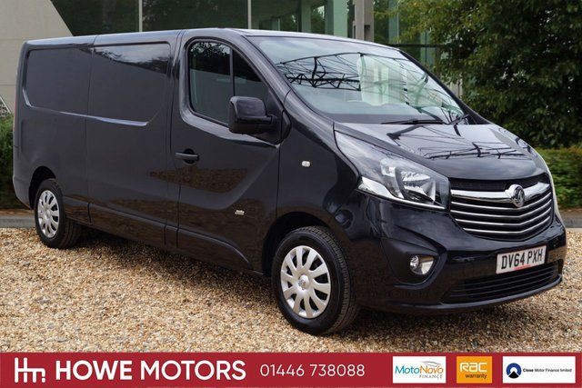 2014 64 VAUXHALL VIVARO 1.6 2900 L2H1 CDTI P/V SPORTIVE 1d 114 BHP BLUETOOTH PHONE CRUISE CONTROL ICE-COLD AIRCONDITIONING DAB RADIO SLIDING SIDE DOOR