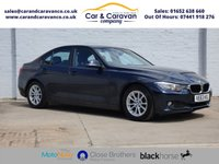 USED 2014 63 BMW 3 SERIES 2.0 320D EFFICIENTDYNAMICS BUSINESS 4d 161 BHP BMW History Leather SATNAV A/C Buy Now, Pay Later Finance!