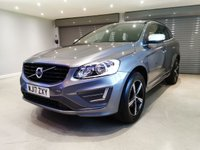 USED 2017 17 VOLVO XC60 2.4 D4 R-DESIGN NAV AWD 5d 187 BHP SATELLITE NAVIGATION + SUEDE/LEATHER UPHOLSTERY + R DESIGN BODY KIT